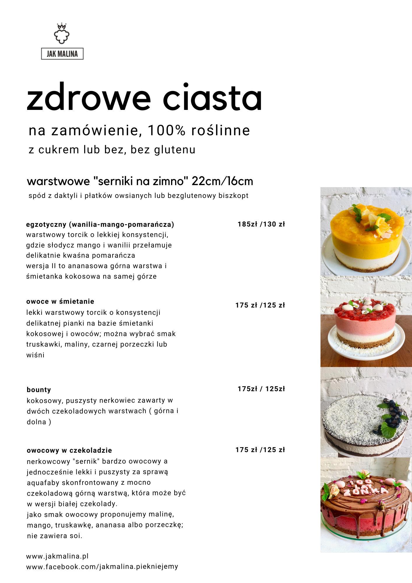 zdrowe ciasta jakmalina 2